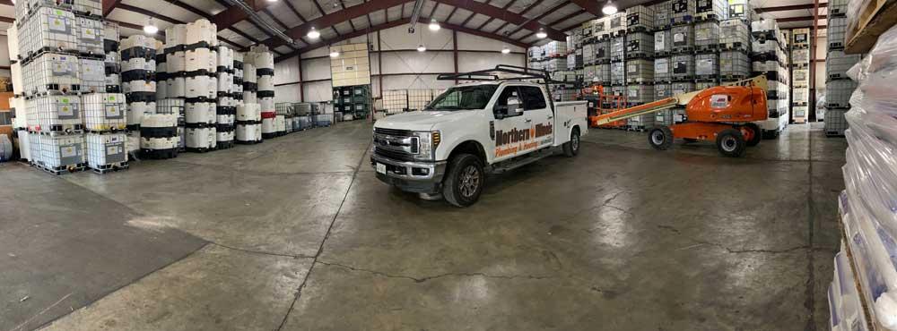 Northern Illinois Plumbing & Heating Vehicle