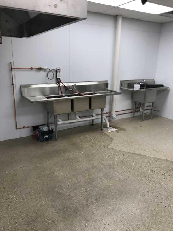 Utility Sink Installation
