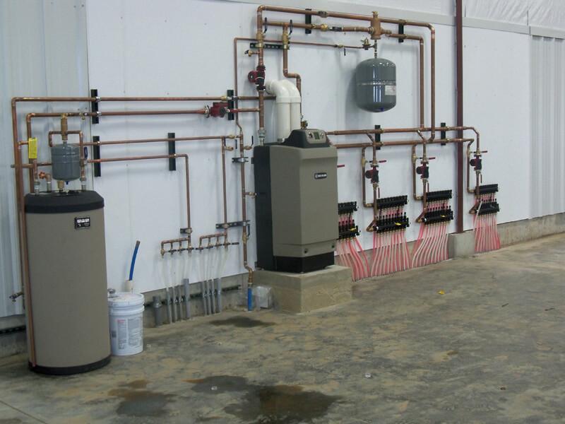 Commercial Radiant Floor Heating