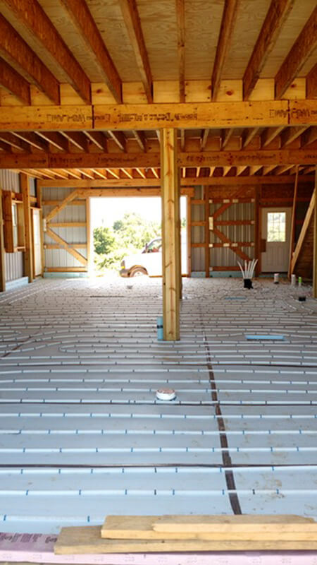 Residential Radiant Floor Heating